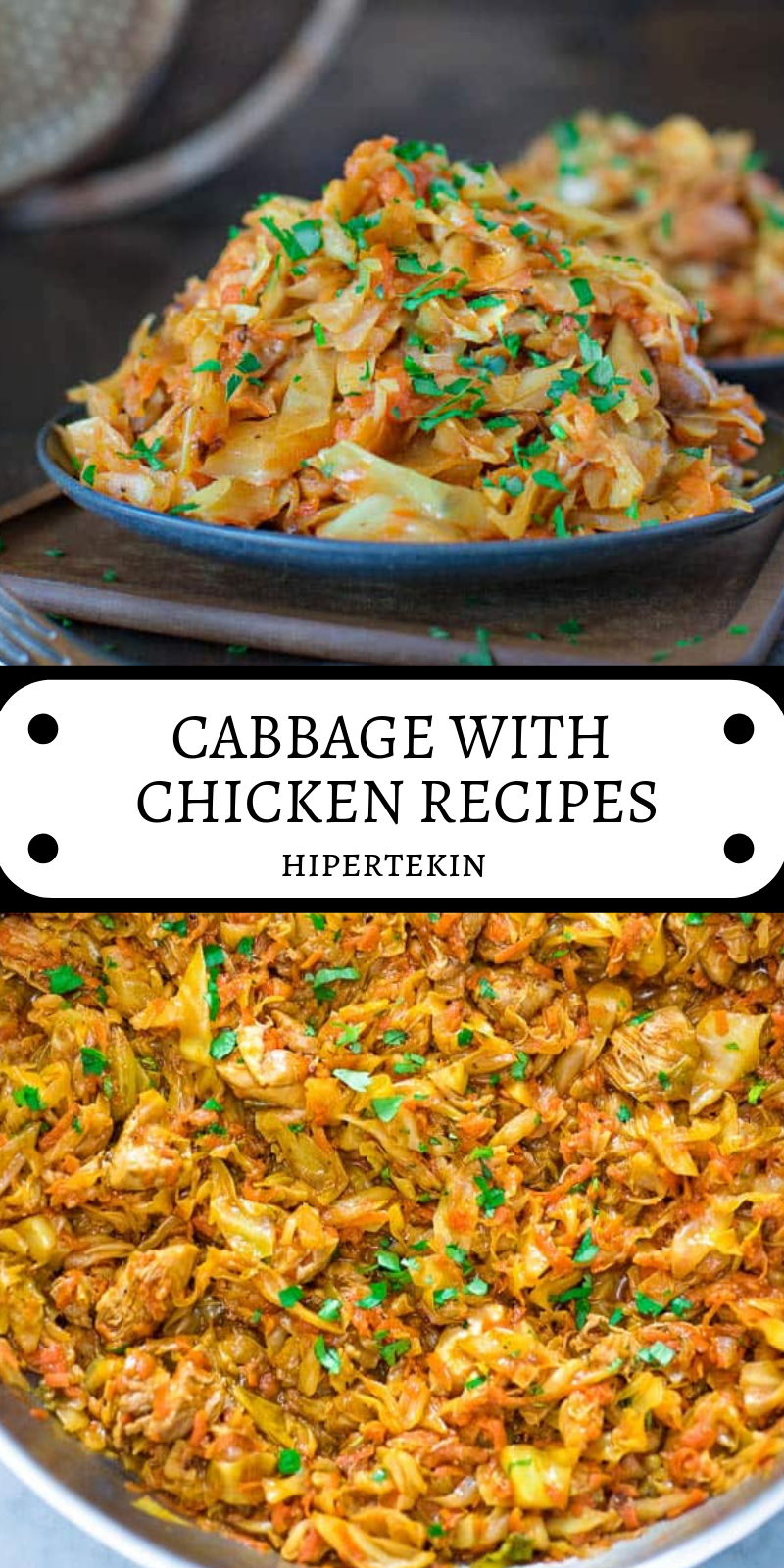 CABBAGE WITH CHICKEN RECIPES images