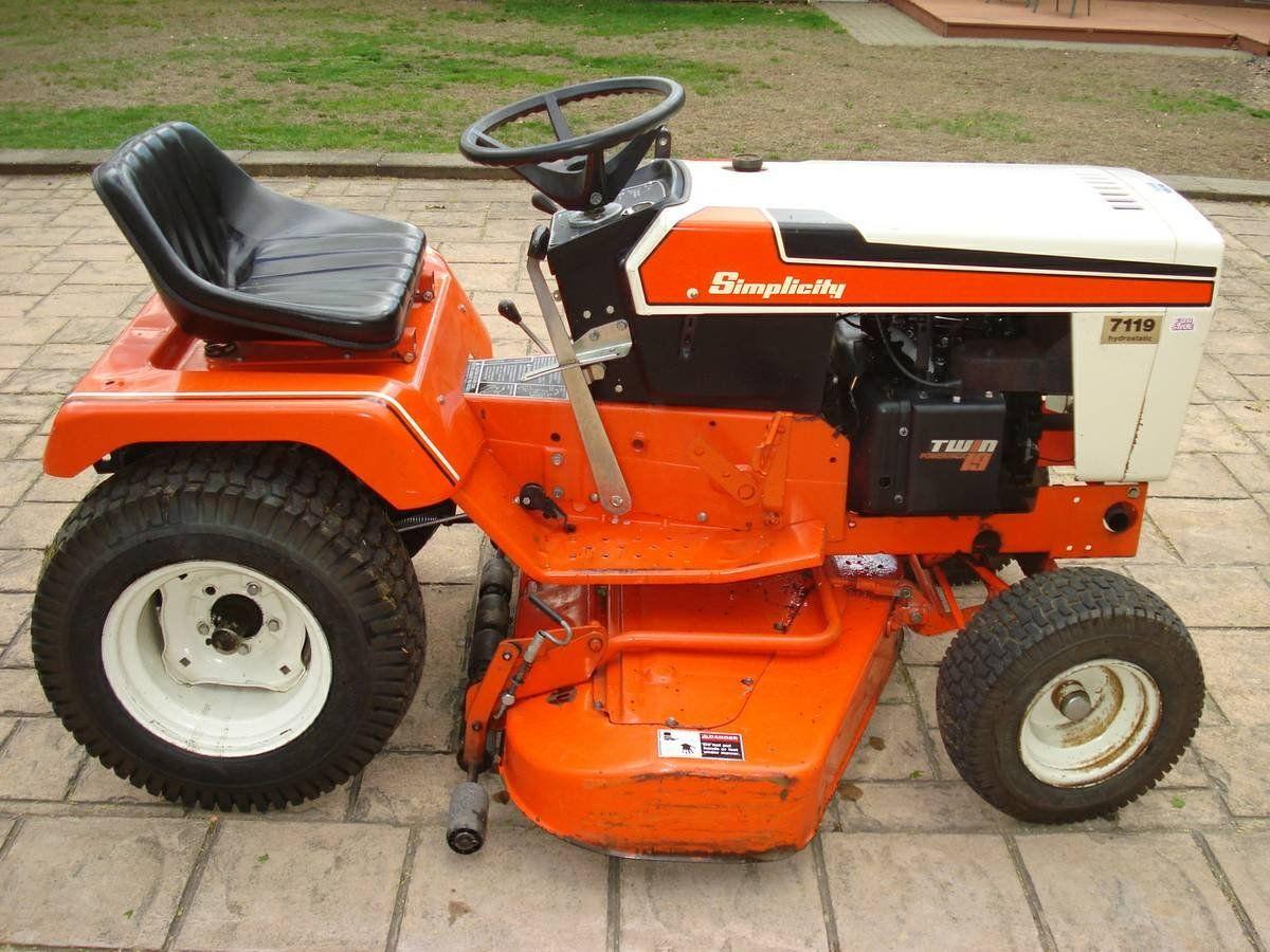 Antique Simplicity Garden Tractors | Best 2000+ Antique decor ideas