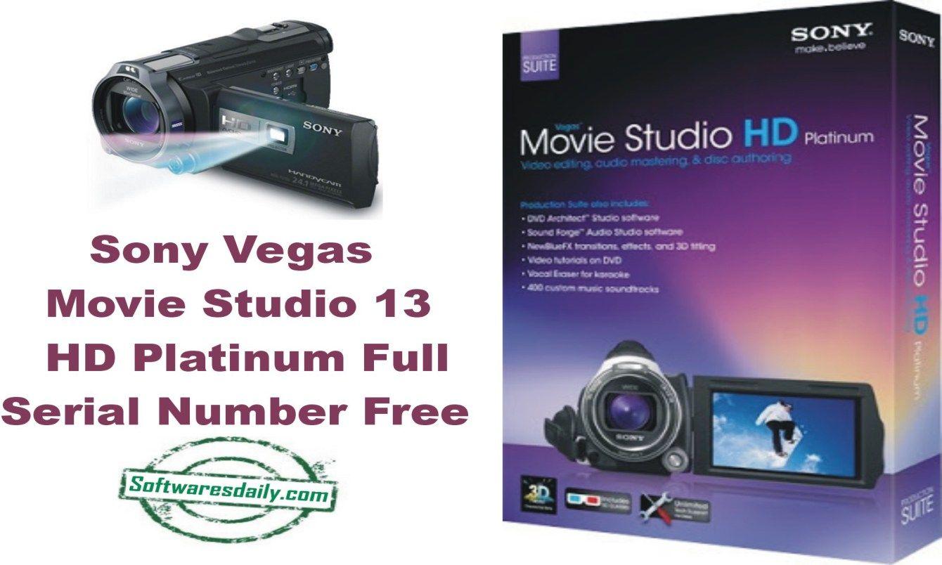 sony vegas movie studio hd platinum 11 serial key