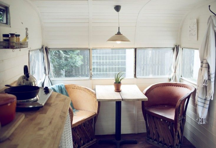 Outbuilding of the Week A Retro 60s Camper Outdoor Bathhouse