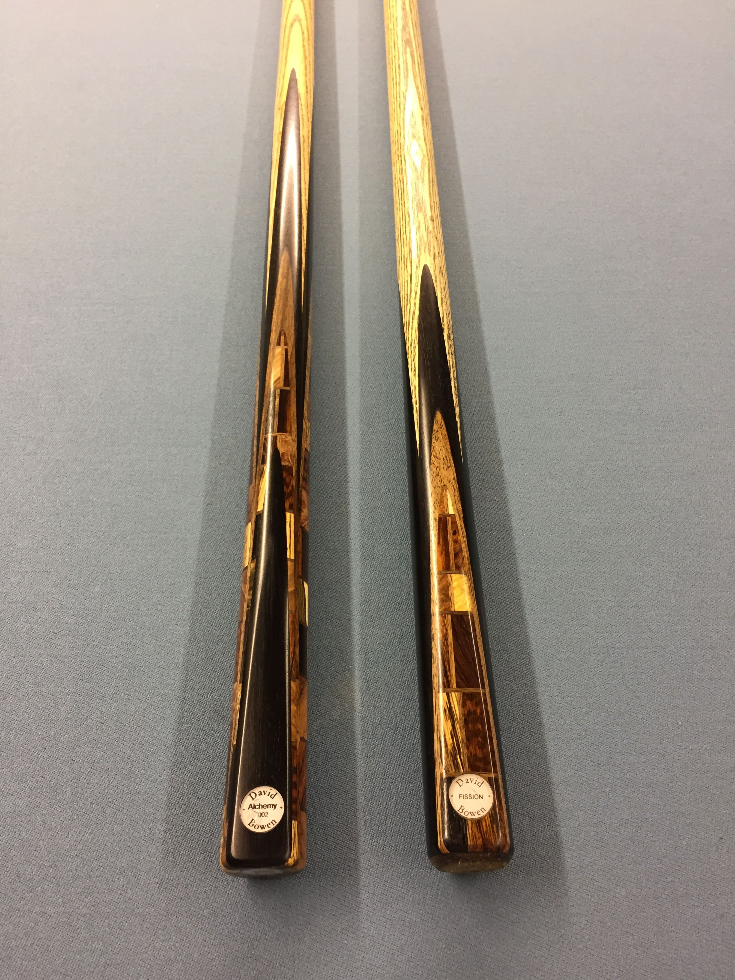 Blockwork Pool Cue And Break Cue David Bowen Alchemy 002