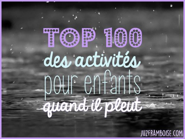 Quoi Faire A Geneve Quand Il Pleut Top 100 Des Activites Pour Enfants A Faire Quand Il Pleut Activites Jour De Pluie Activite Quand Il Pleut Activite