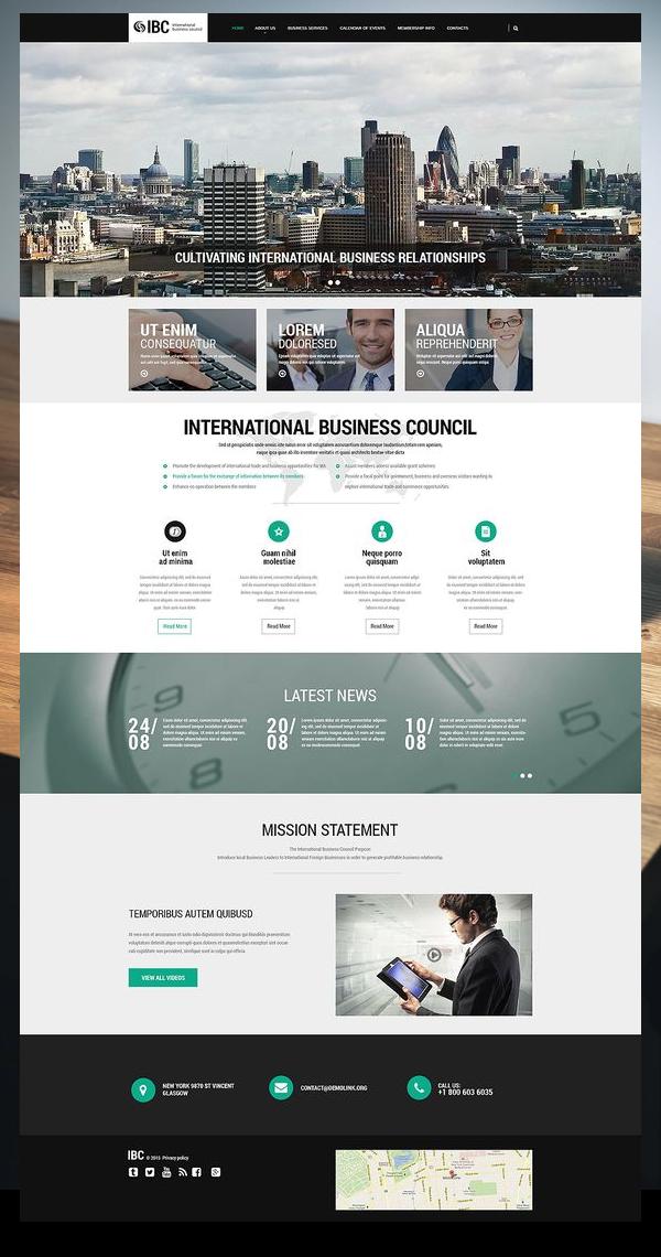 Business Services Responsive Website Template 55478 In 2020 Business Web Design Web Design Tips Online Web Design