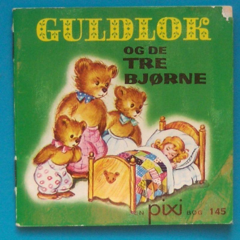 Pixi Guldlok Og De Tre Bjorne Borneboger Barndom Bjorn