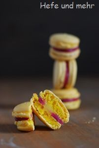 Zitronen-Himbeer-Macarons (3)   - macarons -