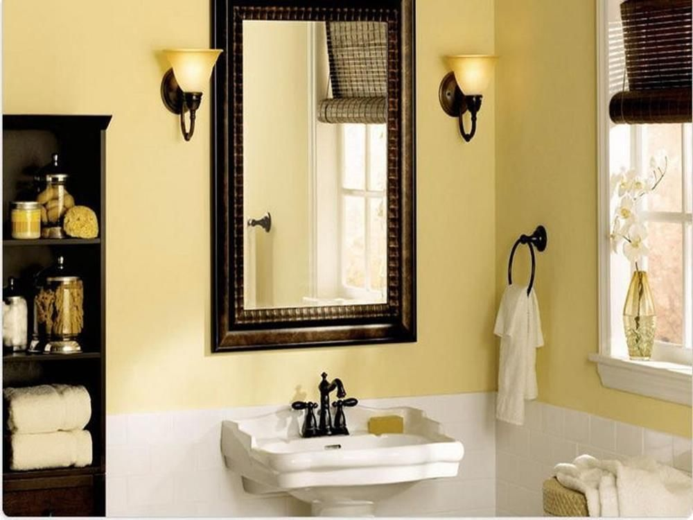 best paint colors for small bathrooms 15  bathroom wall