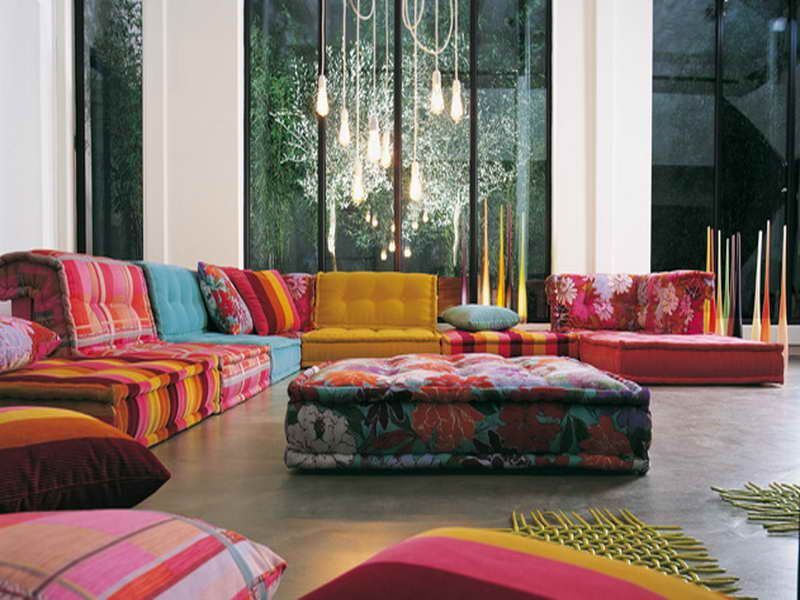 Modular Floor Pillows Design Inspiration 25027 Decorating Ideas