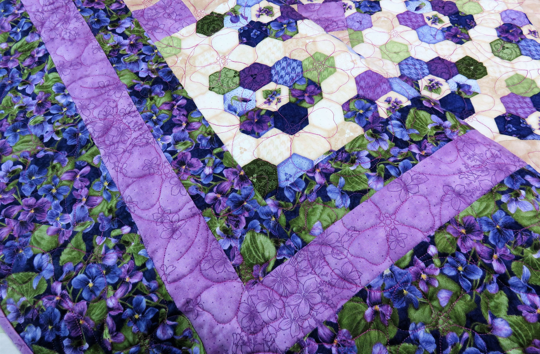 Handmade Quilt For Sale Purple Quilt Queen Size Quilt King Etsy Purple Quilts Handmade Quilts For Sale Handmade Quilts Quilts for sale king size