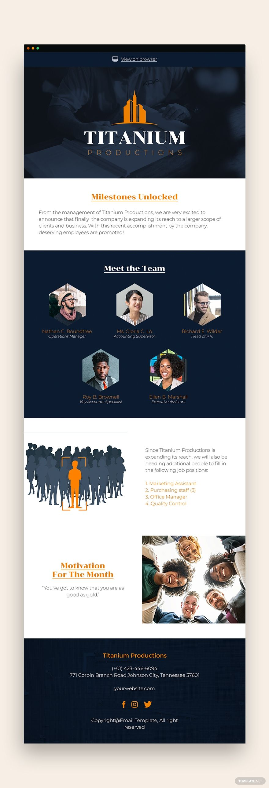 Employee Newsletter Template Free Publisher Html5 Word Outlook Apple Pages Psd Template Net Newsletter Templates Newsletter Template Free Email Newsletter Template Ms publisher newsletter template free