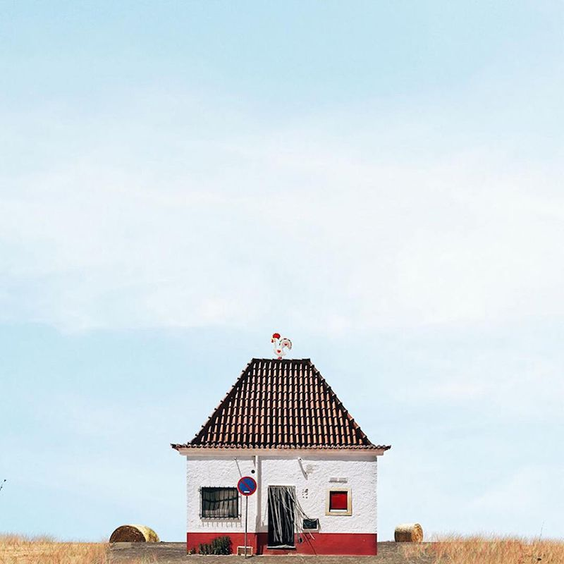 Lonely Houses Photographic Series By Sejkko Vernacular Architecture Architecture House