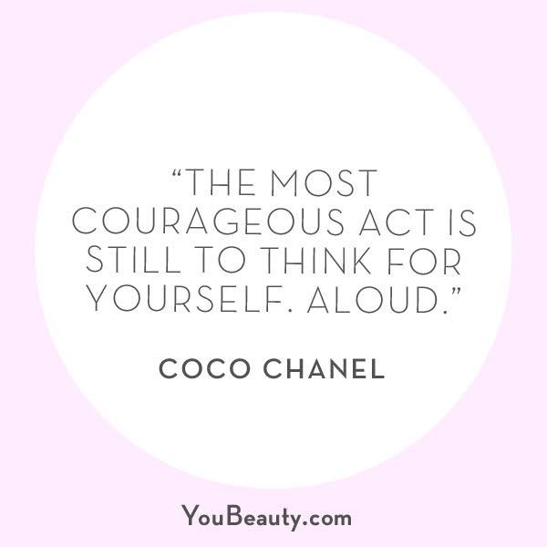 Don't you just love Coco CHANEL?