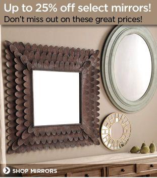 Shop Mirrors | Mirror, Kirkland home decor, Wall decor on Kirkland's Decor Home Accents id=86907