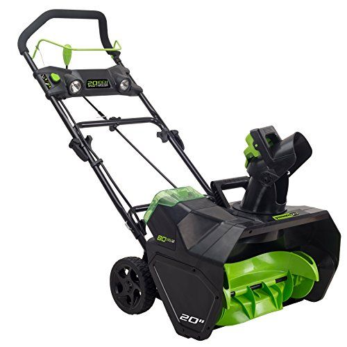 Snow Blowers Greenworks Pro 2601302 80v 20inch Cordless Snow