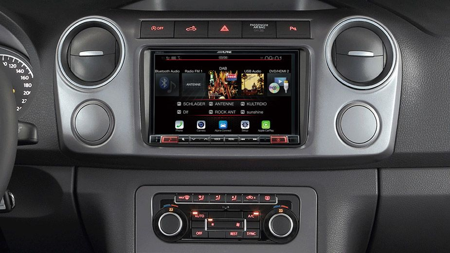 "Big-Screen Entertainment - Our T5 is fitted the Alpine 8"" Touch"