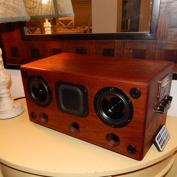 Bluetooth Speaker and MP3 Music Player High by HeavenlyHardWoods