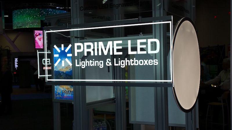Mono Color LED Edge-lit Sign