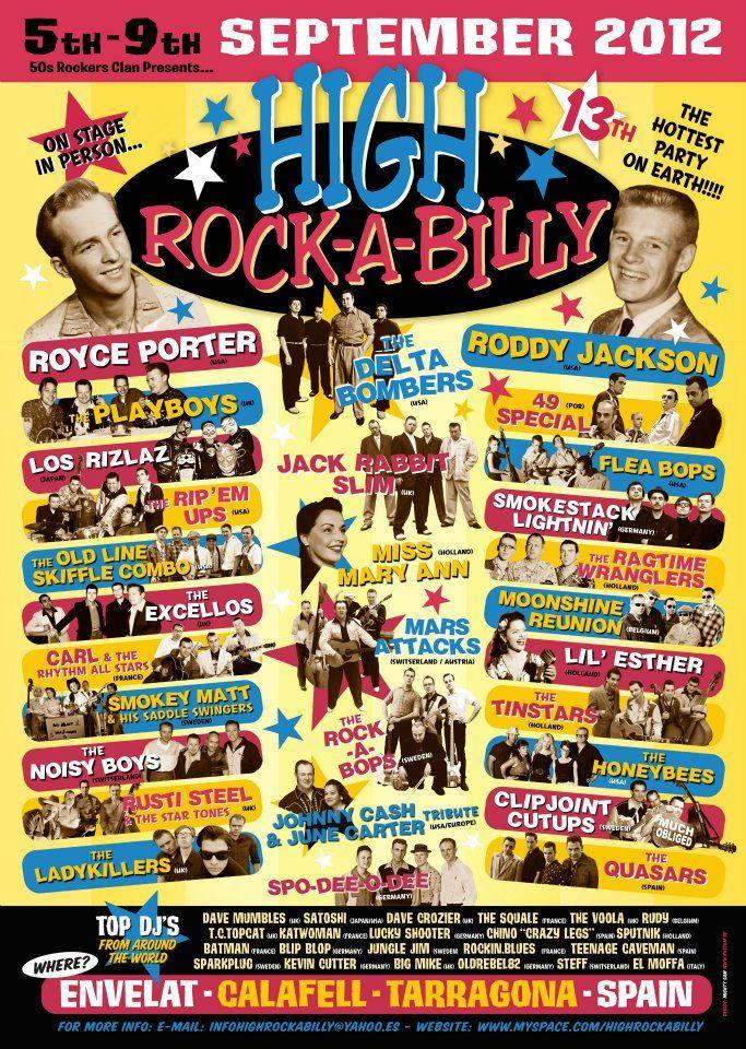 High RockABilly. Next September at Calafell, Spain.