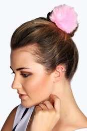 Daniella Faux Fur Pom Hair Bobble