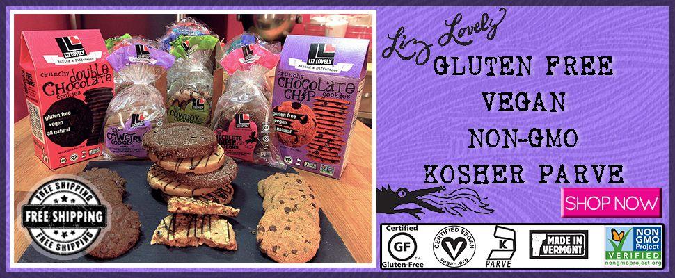 Liz Lovely Gluten Free & Vegan Cookies Shop Vegan gluten