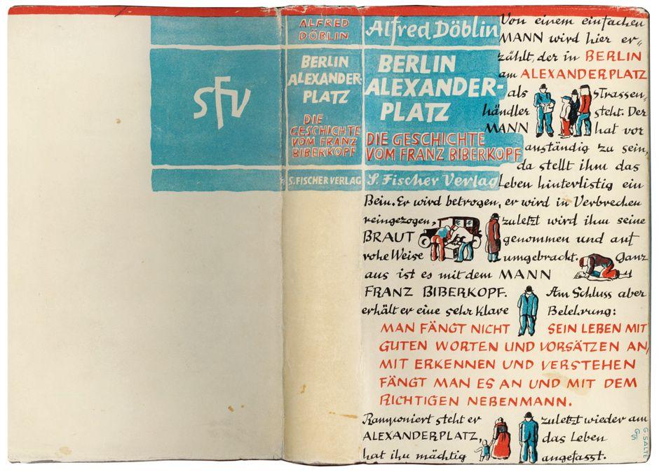 Buchdeckel In Der Ersten Deutschen Demokratie Berlin Alexanderplatz Umschlagdesign Berlin