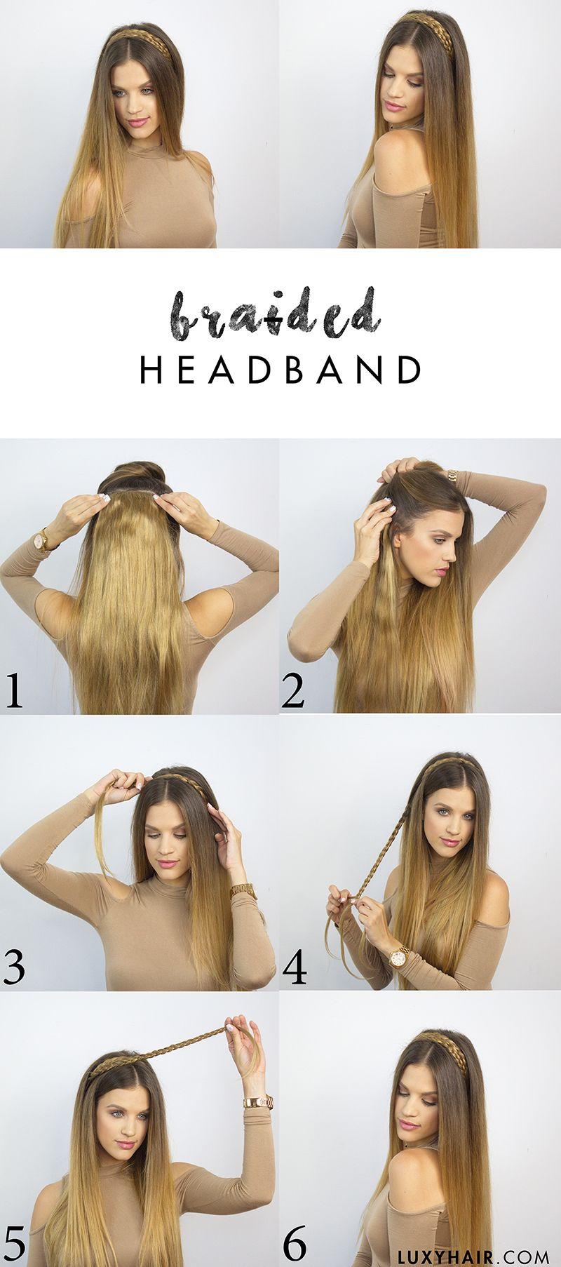 heatless back to school hairstyles cute hairstyles pinterest