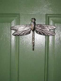 MH1013 Dragonfly Door Knocker By Michael Healy