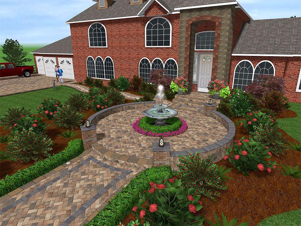 Beautiful Courtyard Landscape Design Software Free Landscape Design Garden Design Software