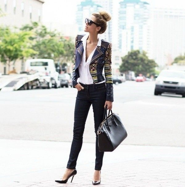 80 Most Stylish Leather Jacket Trends For Women Updated List