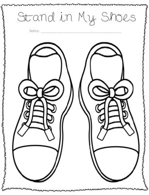 Empathy Shoes from DaisyGreenCounseling on