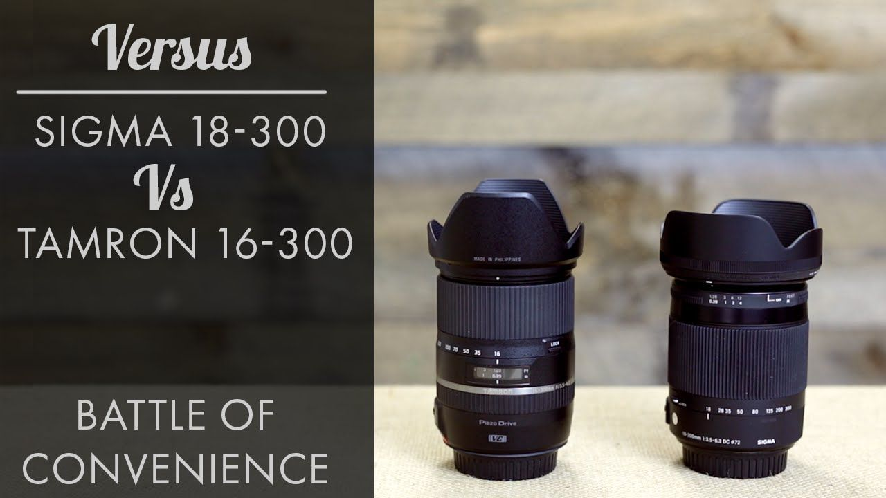 Battle Of Convenience Sigma 18 300 Vs Tamron 16 300 Review Tamron Sigma Sigma Lenses