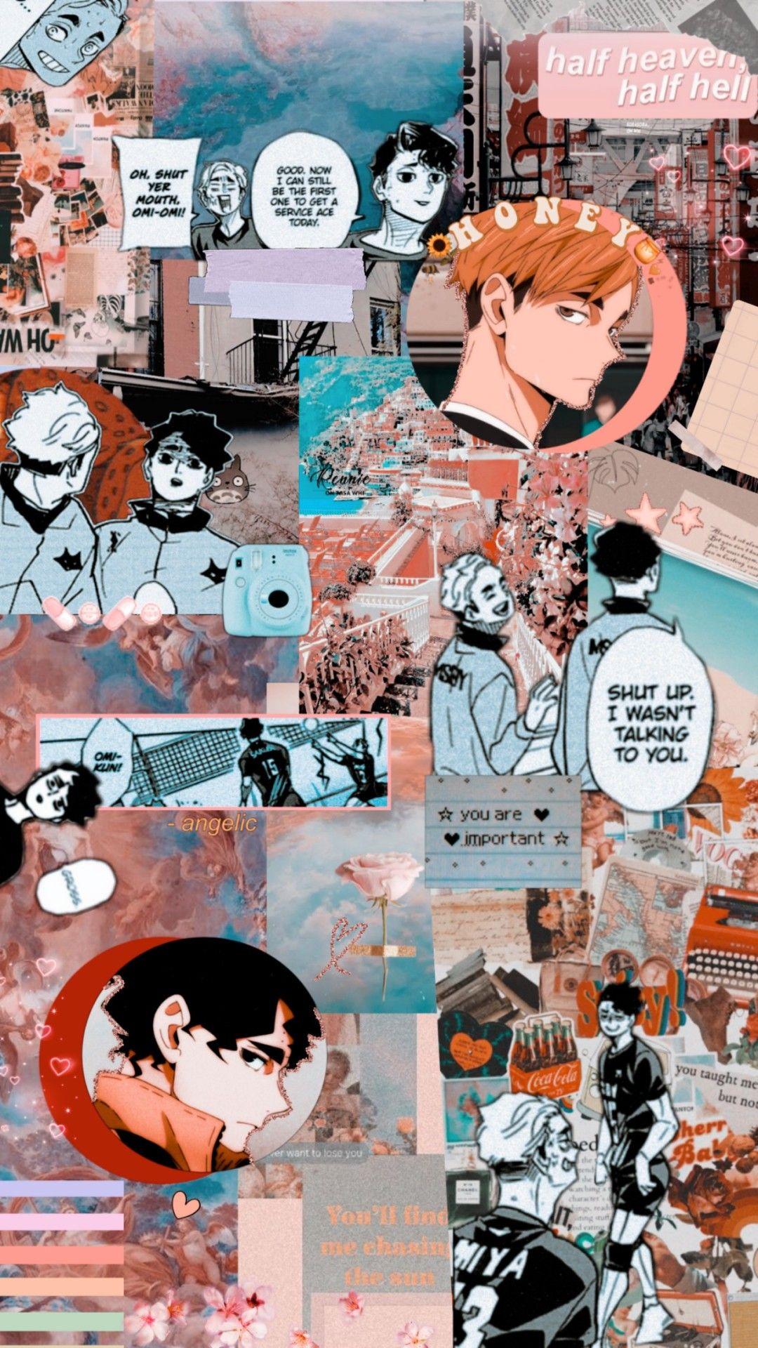 Atsumu Miya x Sakusa Kiyoomi Wallpaper in 2020 Cute