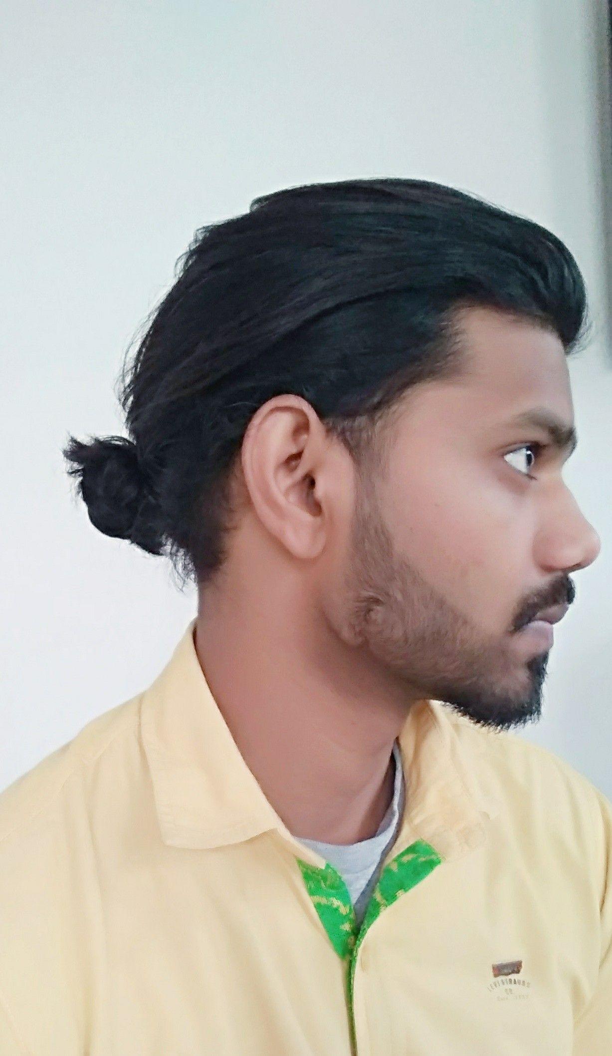 Men Low Bun Hairstyle Bun Hairstyles Hairstyle Low Bun Hairstyles