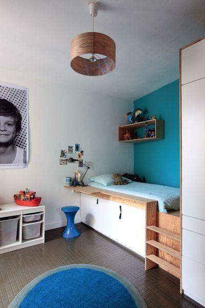 chambre des enfants comment gagner de la place children inpiration pinterest kids. Black Bedroom Furniture Sets. Home Design Ideas