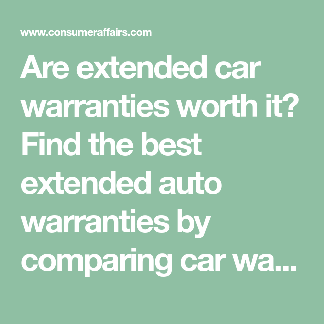 Best Extended Auto Warranty >> 15 Best Extended Car Warranty Companies Of 2019 Auto