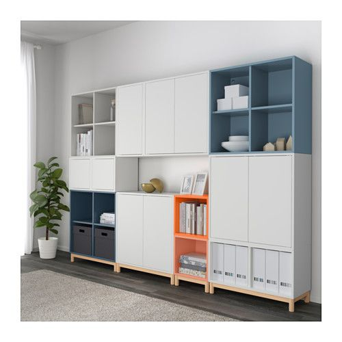 Eket cabinet combination with legs multicolour ikea home - Sweet home muebles ...