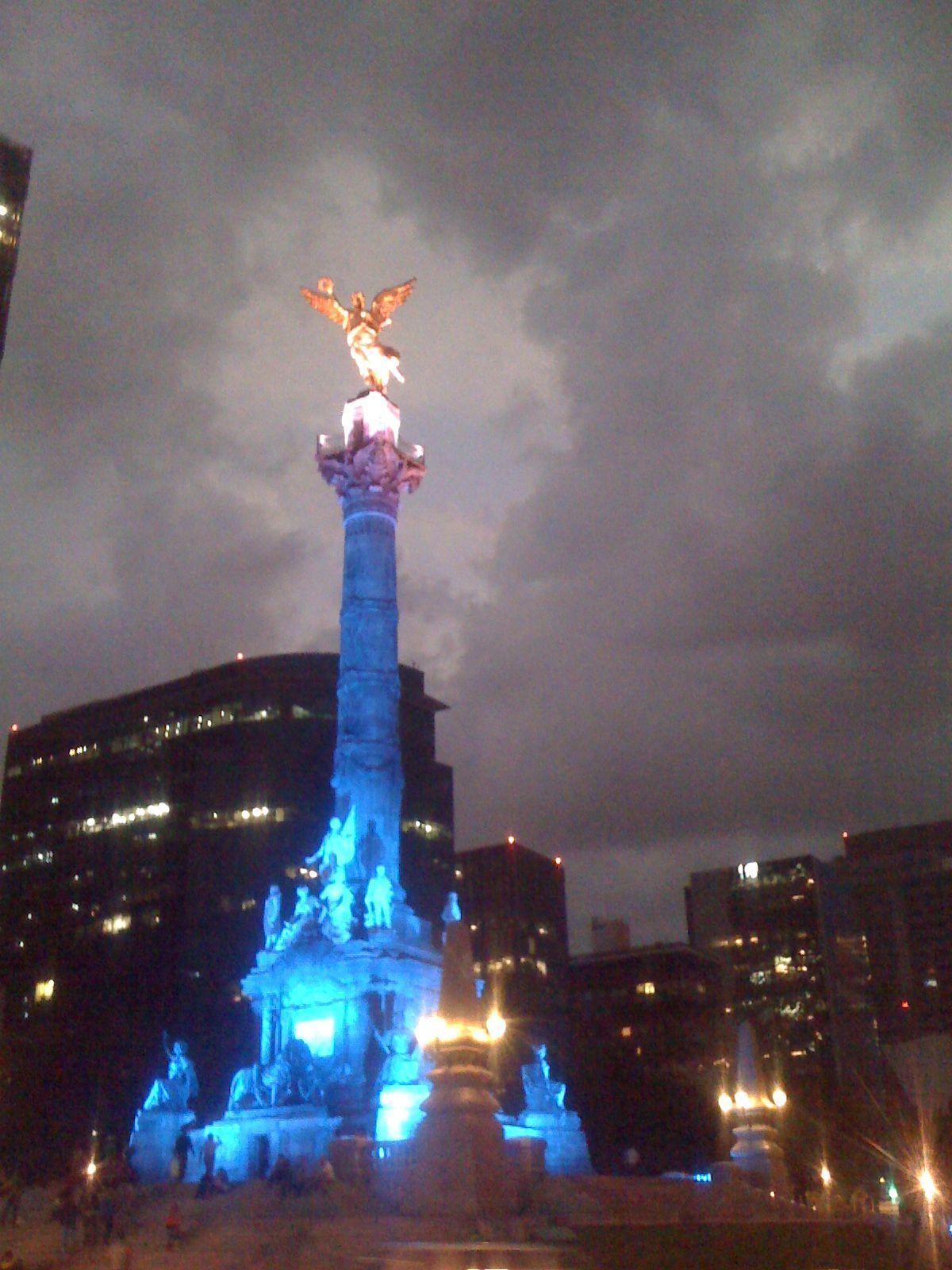 EL ANGEL DE LA INDEPENDENCIA MEXICO DF