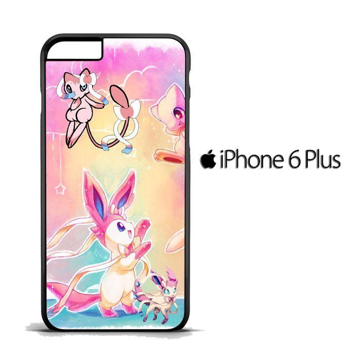 Pokemon Sylveon and Mew iphone case