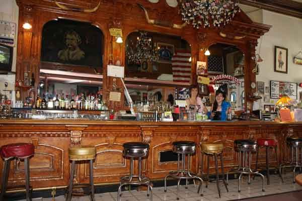 The Silver Queen Saloon Virginia City Nevada
