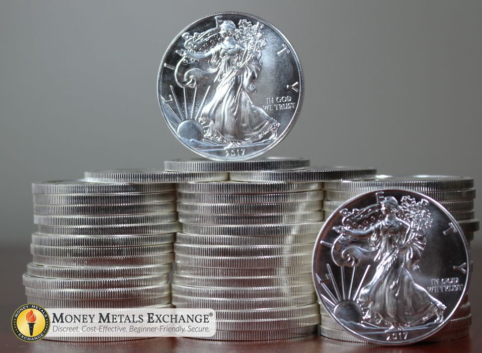 Silver Eagles For Sale American Silver Eagle Coins Money Metals Exchange Silver Eagle Coins Silver Eagles Eagle Coin