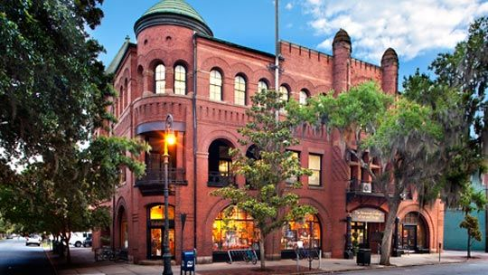 poetter hall at scad (savannah college of art and design) in