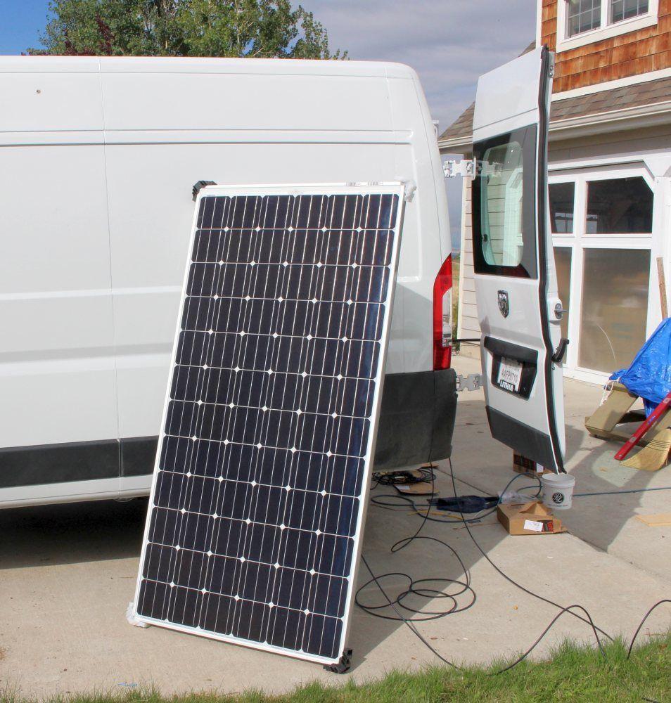 Pv Panels Camper Van Conversions Diy Campervan Solar Sun
