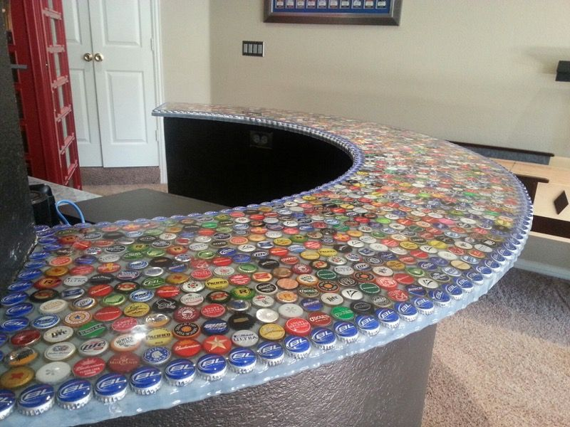 Epoxy Bottle Cap Bar Bar Tops Diy Clear Epoxy Resin Bottle Cap