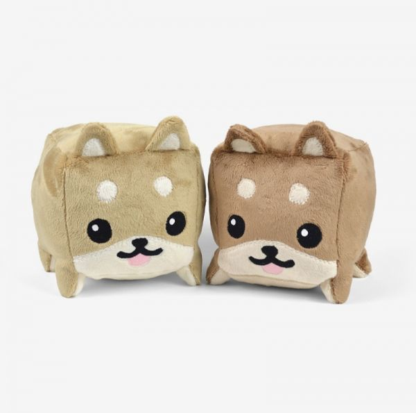 Free Dog Cube Animal Plush Toy Shiba Inu Sewing Pattern | Sewing ...