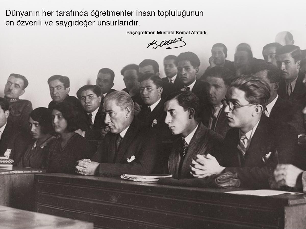 Basta Basogretmen Mustafa Kemal Ataturk Olmak Uzere Tum Ogretmenlerimizin 24 Kasim Ogretmenler Gunu Nu En Icten Dileklerimizle Kutlariz Tarih Fotograf Genclik