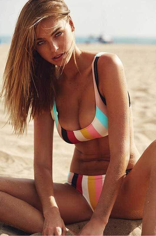 Candy - Striped Bikini