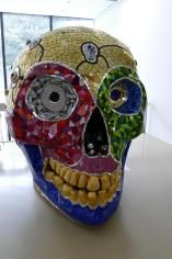 Schädel, Sprengel Museum, Hannover, Kunstmuseum, The Big Shots, Niki de Saint Phalle