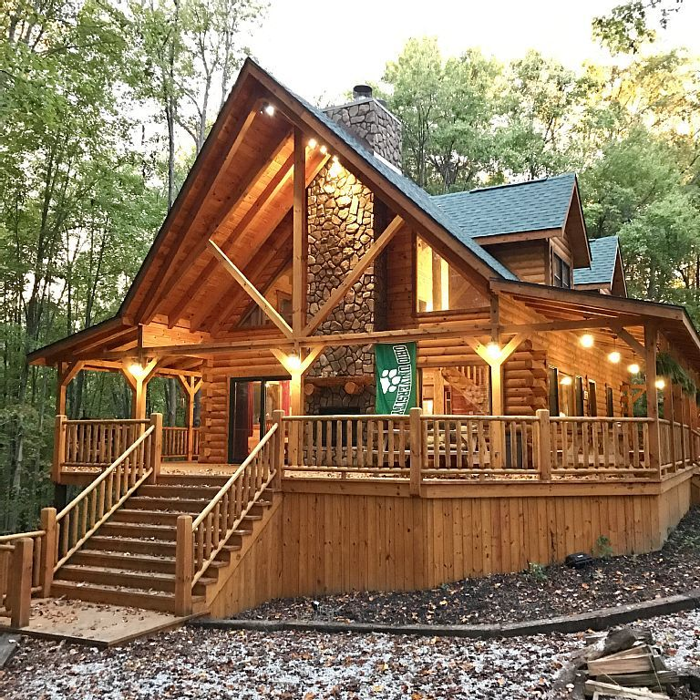 Redwood Lodge Hocking Hills Ohio Vacation Rental Travel Vrbo