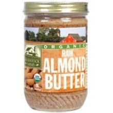 Woodstock Farms Organic Raw Almond Butter, 16 Ounce -- 12 per case. - http://goodvibeorganics.com/woodstock-farms-organic-raw-almond-butter-16-ounce-12-per-case/