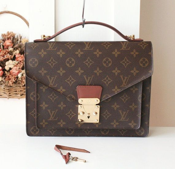 fcee2826f77a Louis Vuitton Bag Monceau Monogram Vintage Handbag