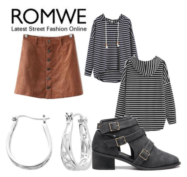 """""""romwe 10/31"""" by shannongarner ❤ liked on Polyvore featuring WithChic and Belk Silverworks"""